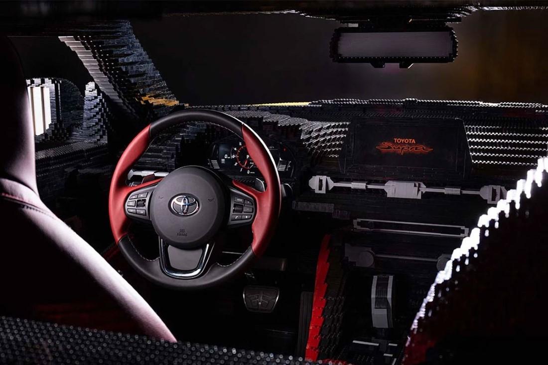 LEGO x Toyota GR Supra
