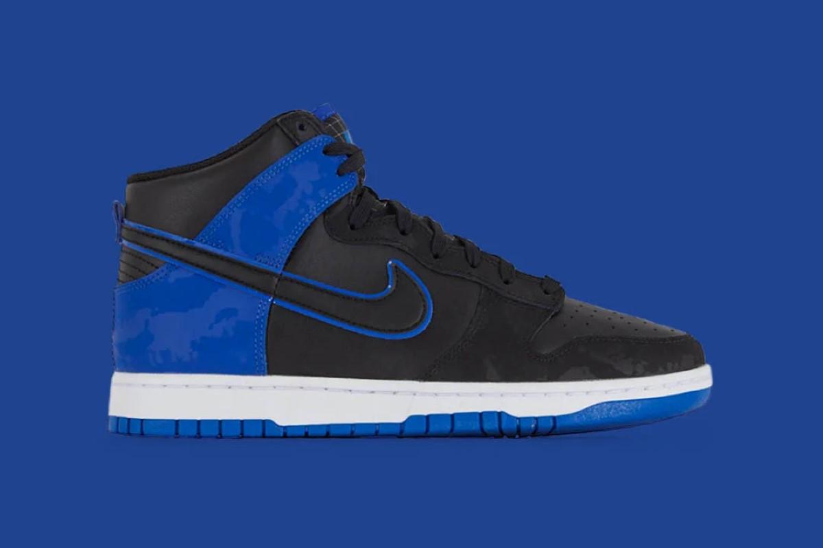 Nike Dunk High Retro SE Blue Camo