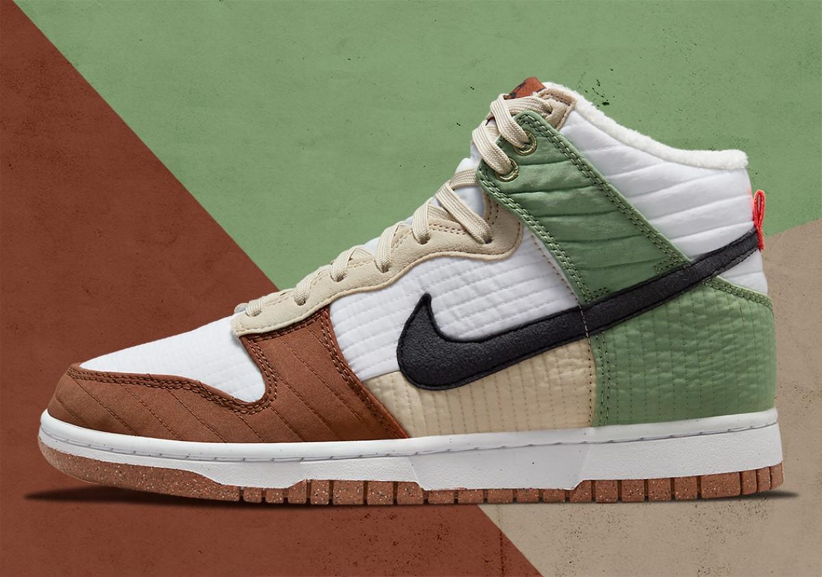 Nike Dunk High Toasty