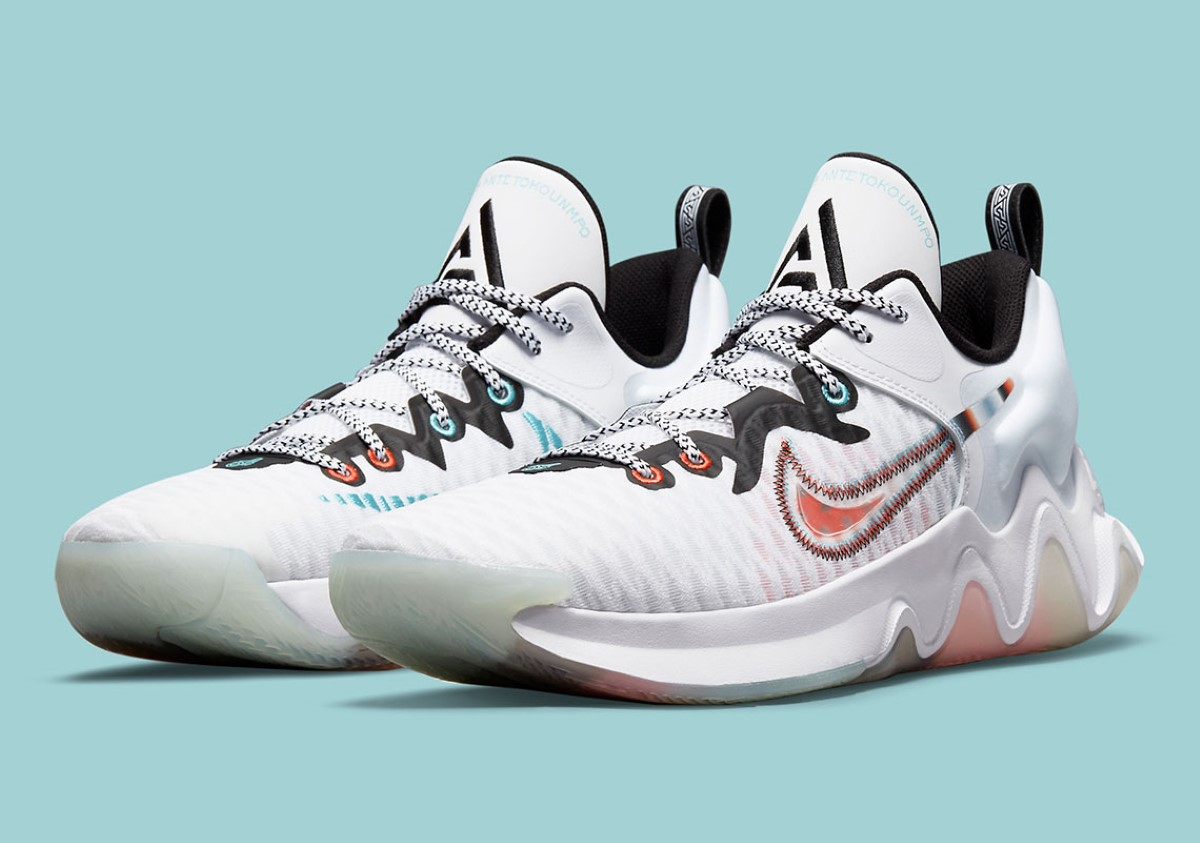 """Nike Giannis Immortality """"White Clear"""""""