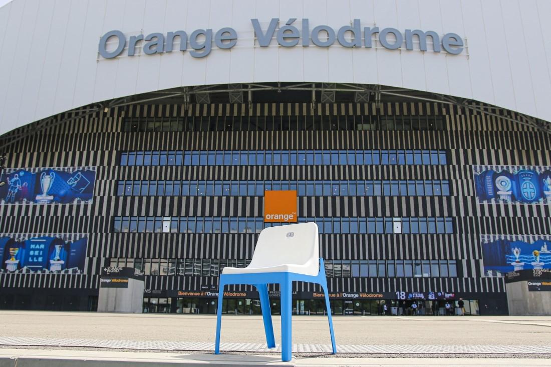 Olympique de Marseille - Sièges Orange Vélodrome