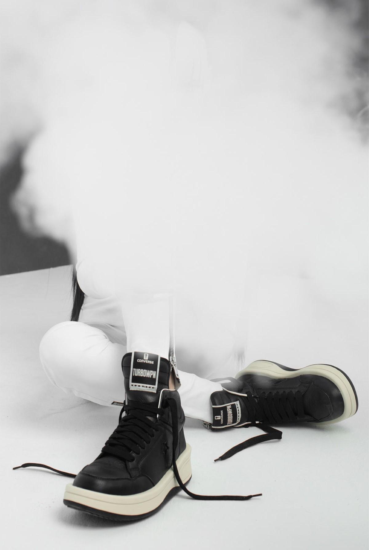 Rick Owens x Converse DRKSHDW TURBOWPN