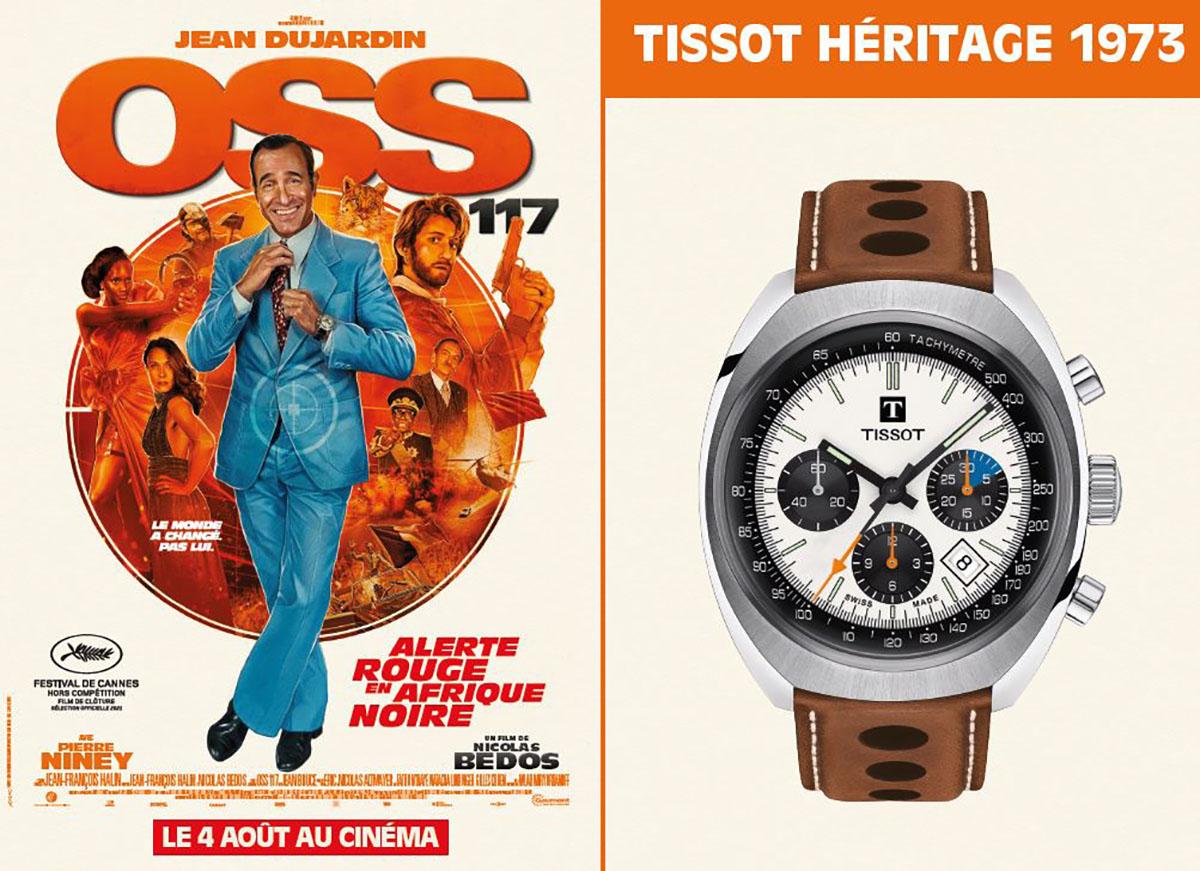 Tissot Heritage 1973 x OSS 117