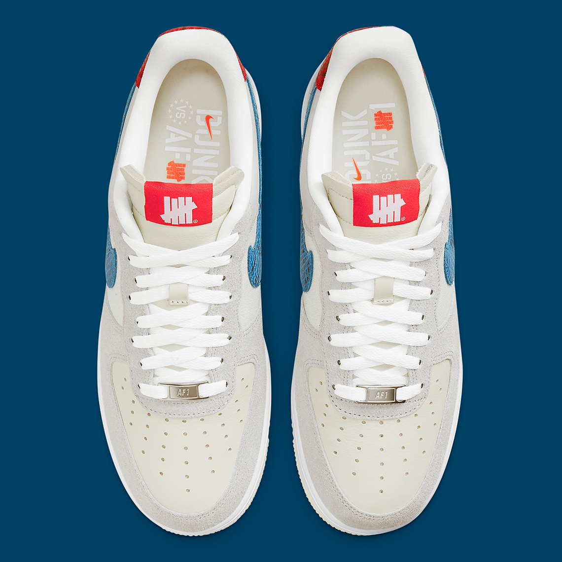 """UNDEFEATED x Nike Air Force 1 """"5 On It"""""""