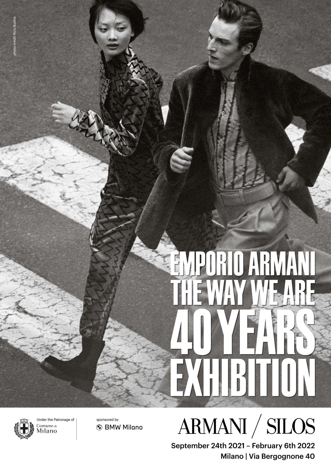 Emporio Armani 40ème Anniversaire