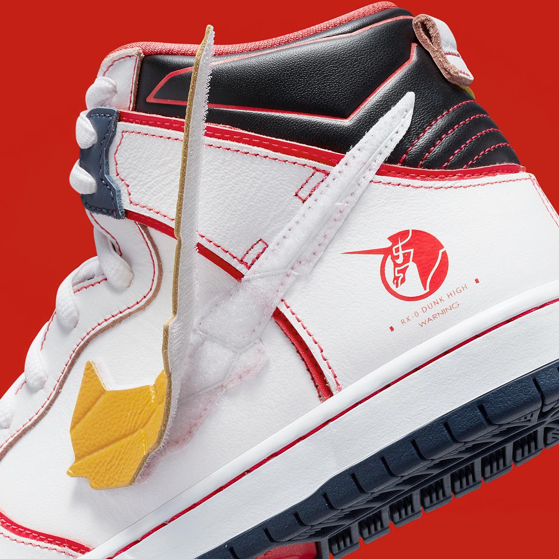 "Gundam x Nike SB Dunk High ""Project RX-0 Unicorn"""