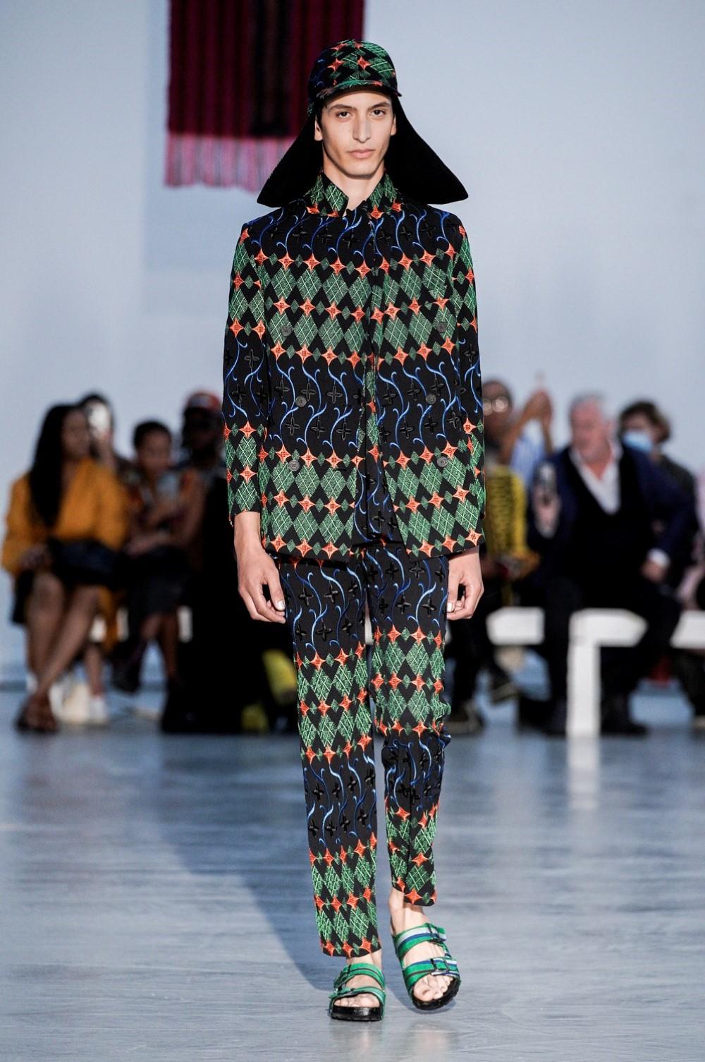 Kenneth Ize - Printemps-Été 2022 - Paris Fashion Week