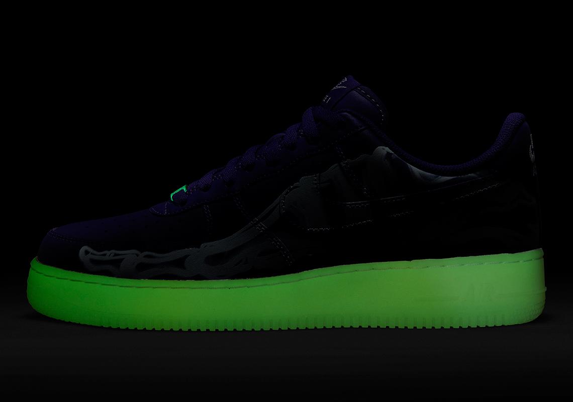 "Nike Air Force 1 Low ""Skeleton"""