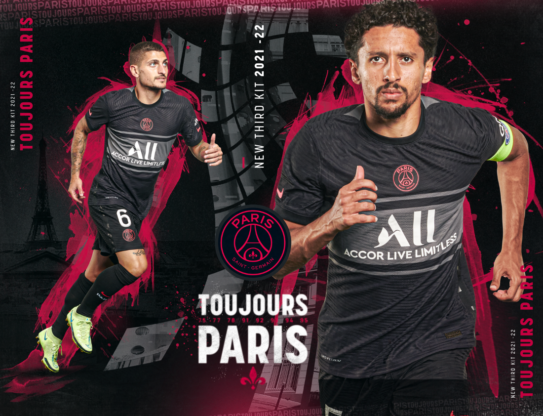 Paris Saint-Germain - Maillot Third 2021-22