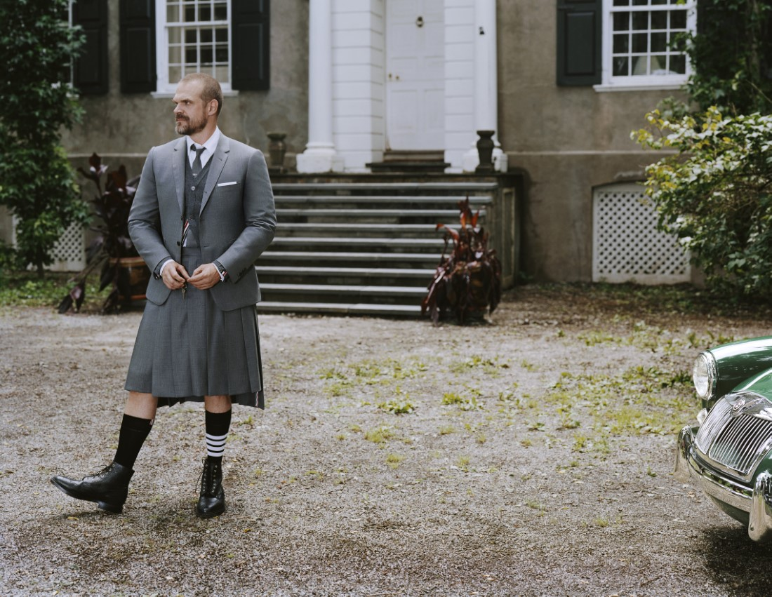 Thom Browne Automne-Hiver 2021 - David Harbour & Anh Duong