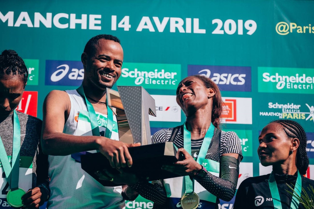 ASICS x Schneider Electric Marathon de Paris 2025