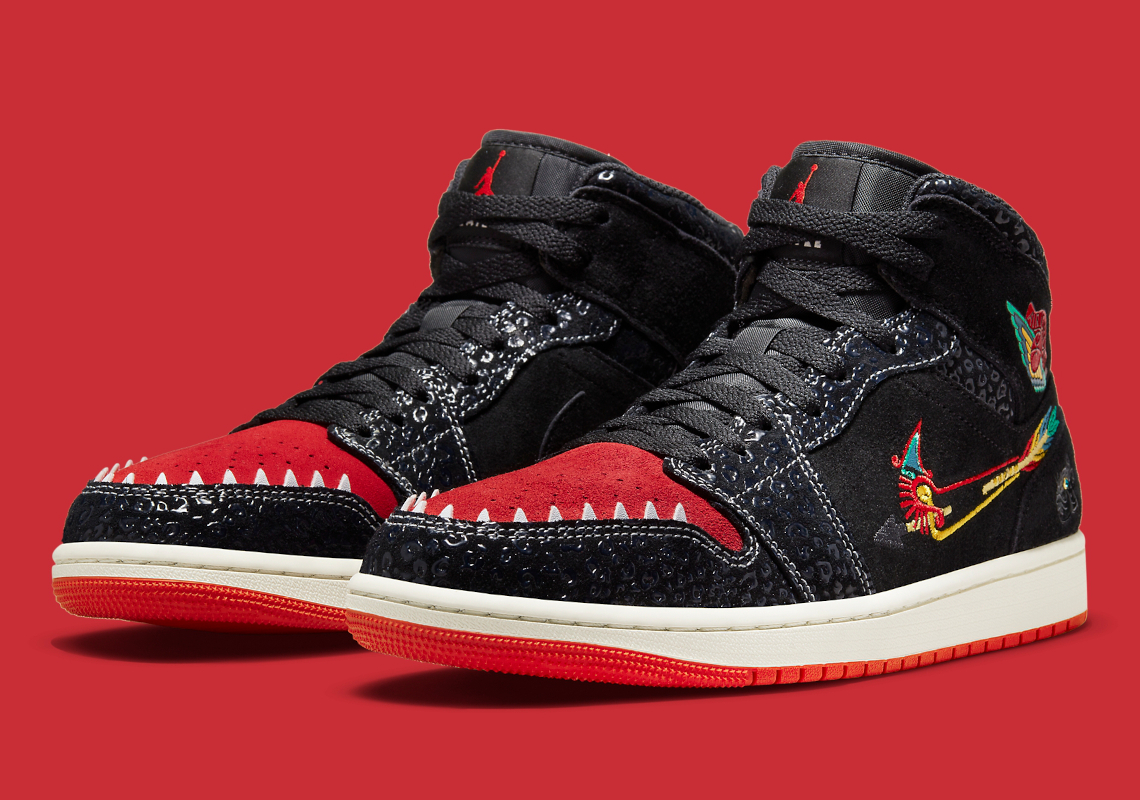 "Air Jordan 1 Mid ""Siempre Familia"""