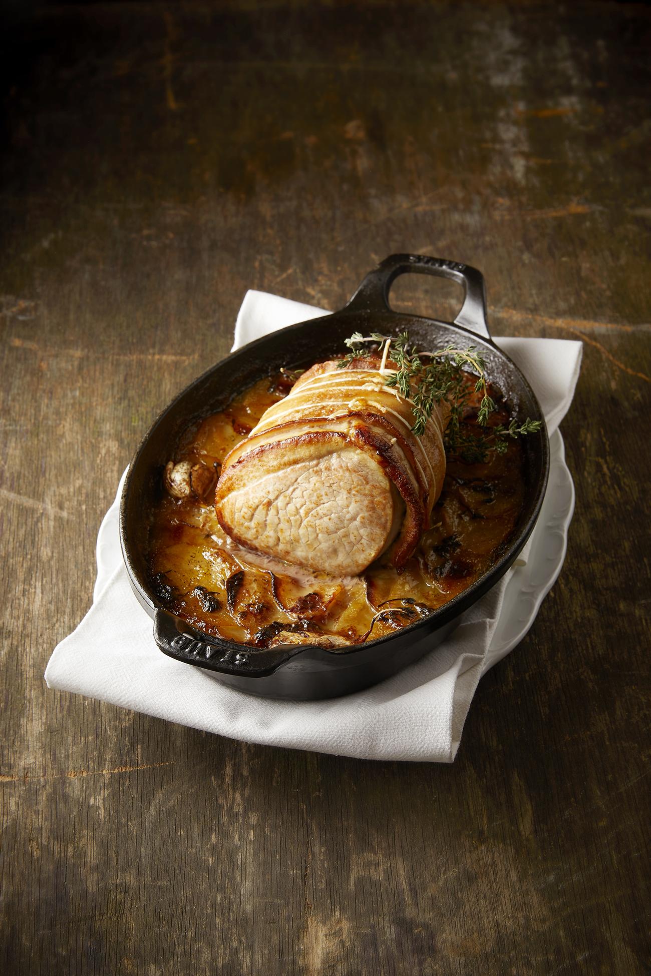 Cyril Lignac - Rôti de veau pommes boulangère