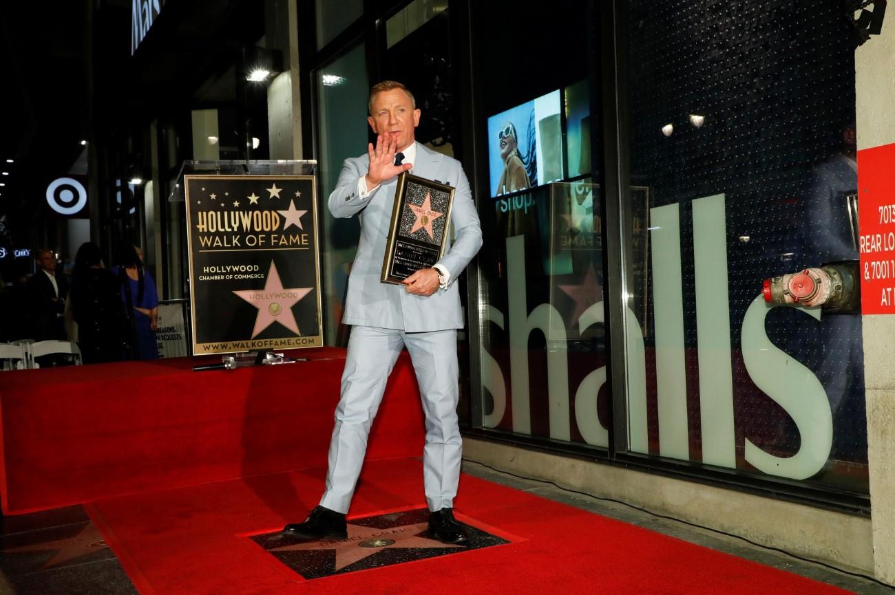 Daniel Craig - Hollywood Walk of Fame