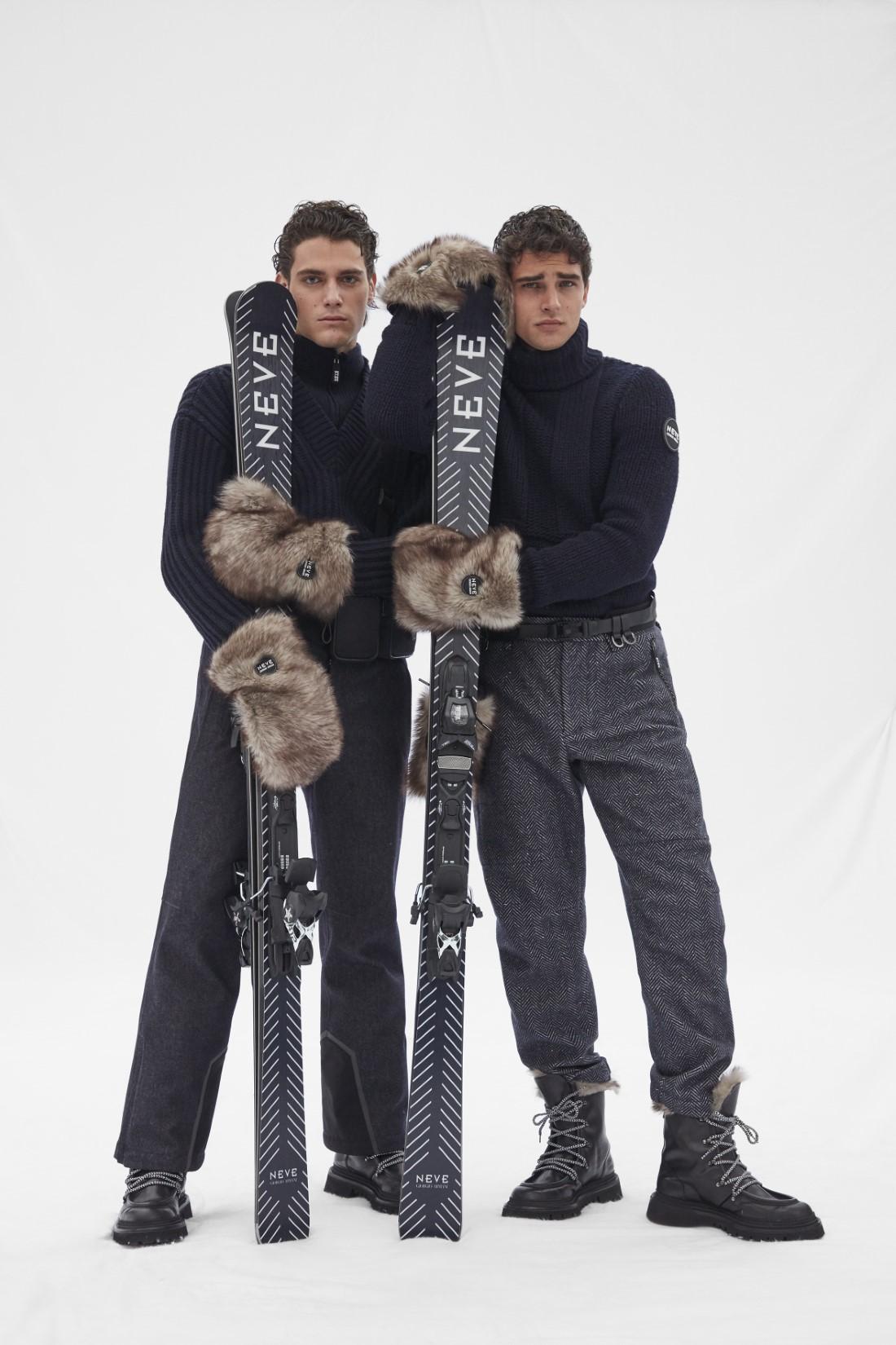 Giorgio Armani - Collection NEVE Automne-Hiver 2021