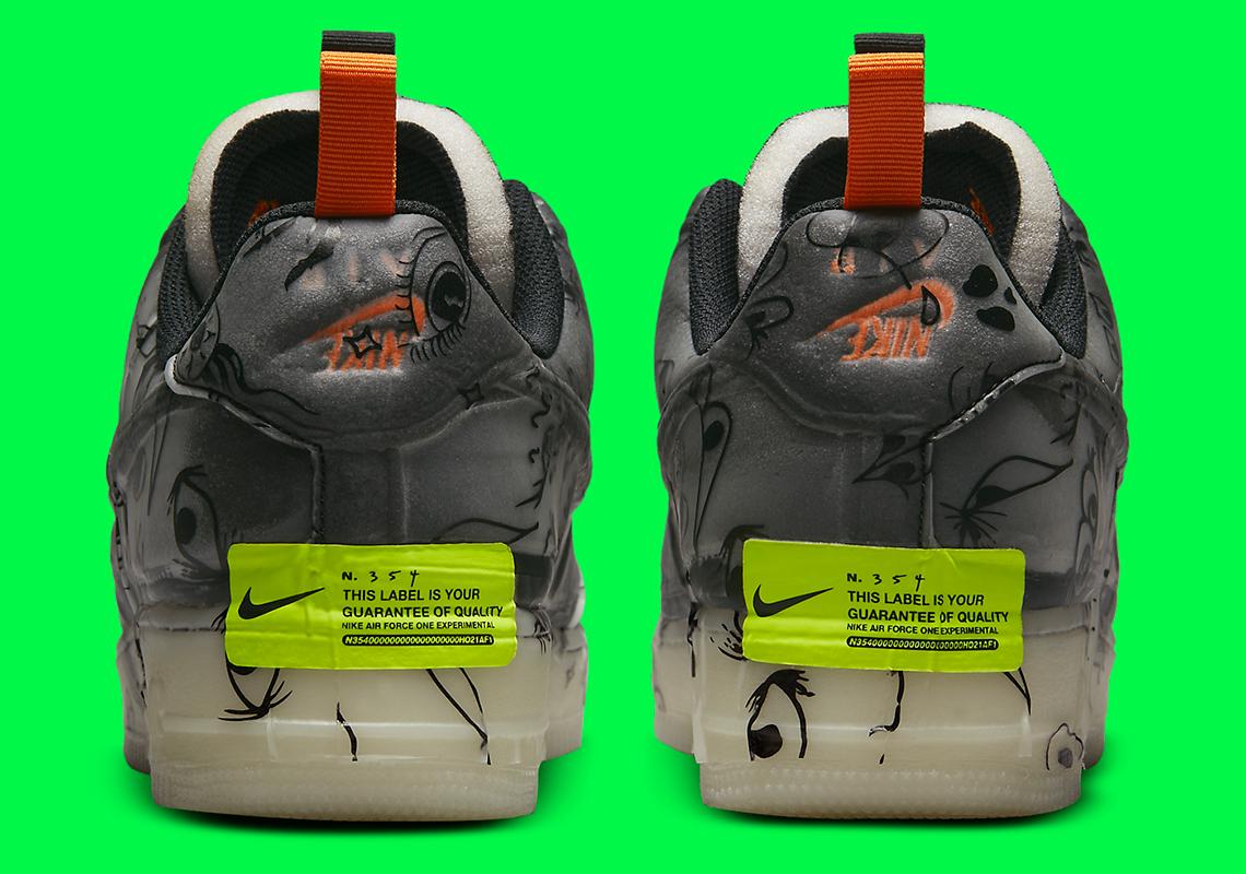 "Nike Air Force 1 Low Experimentale ""Halloween"""