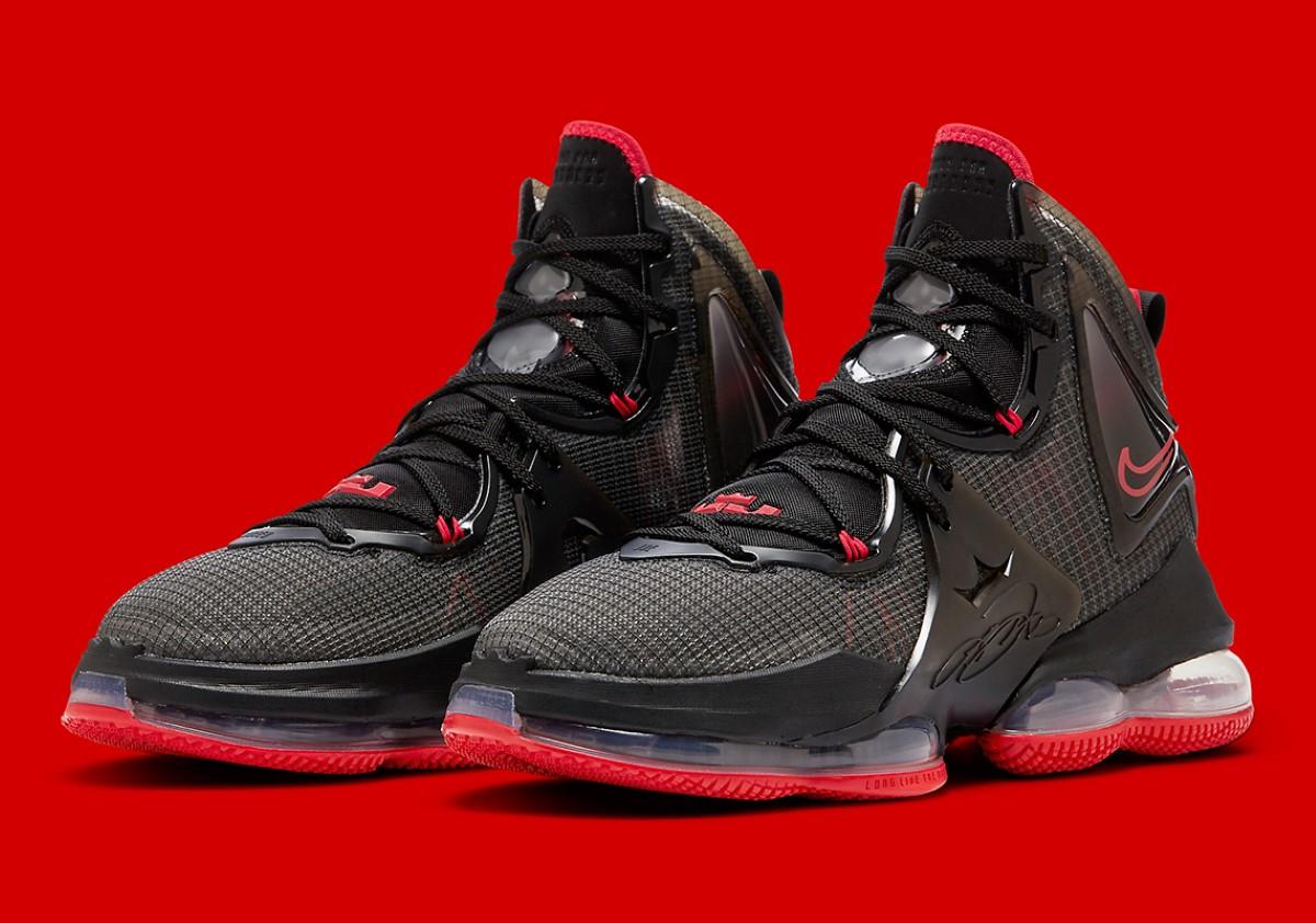 """Nike LeBron 19 """"Bred"""""""